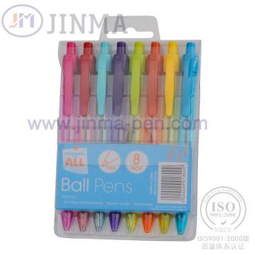 Die beliebteste Geschenkbox mit 8 PCS Gel Ink Pen Jms1036A