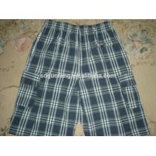 Tissu de tissu teint par fil de coton Y / D pour des shorts de boxeurs