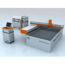 CNC-Schleifwasserstrahlschneidemaschine für Metall / Marmor / Gummi / Kunststoff / Schaum
