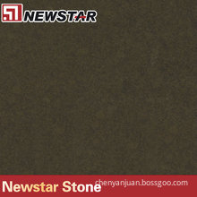 Newstar dark brown quartz stone