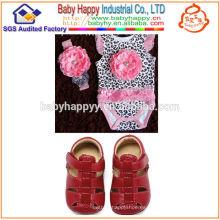 2014 Bebé rosado de moda de la impresión del leopardo de las ventas calientes