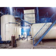 Equipo de destilación de petróleo negro de la máquina de reciclaje del aceite de neumático de la competencia