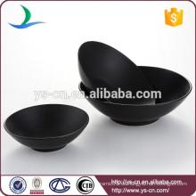 Zeitgenössische Housewares Steinzeug Black Bowl Set