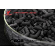 Gránulos a base de madera de carbón activado