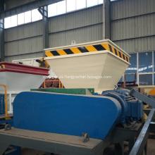 Máquina de trituradora de paletas de madera de residuos plásticos para la venta