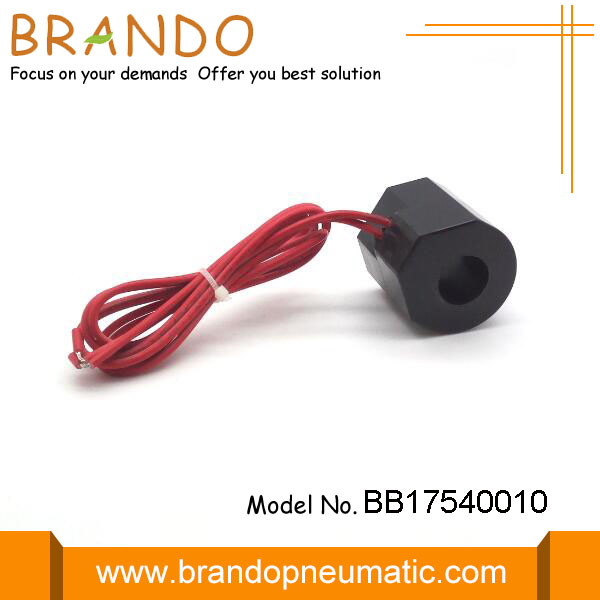 Red Flying Leads Pneumatic Electric Solenoid Coil