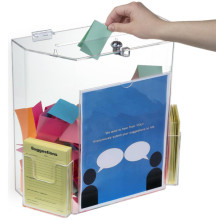 Factory Made Acrylic Suggestion Boxes with Lock