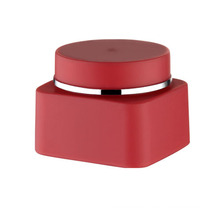 30g 50g Square Plastic Cream Jar Matte Finish Jar