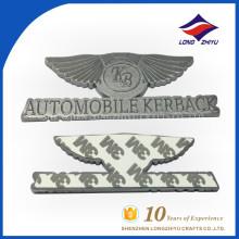 Placa de identificação personalizada de liga de zinco e fundição por nome do vendedor da placa