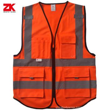 Hot sell EN ISO 20471 reflective vest