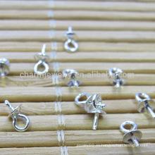 925 plata esterlina accesorios de bricolaje para la perla colgante hebilla colgante de cuentas accesorios SEF005