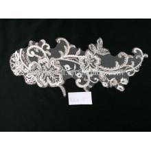Umweltfreundliche gute verkaufenstickerei guipure Spitzegewebe für Hochzeitskleid