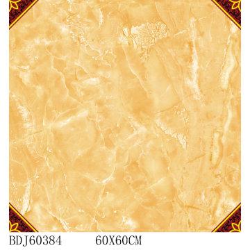 Beste Qualität Teppich Fliesen mit Gold mit 600X600mm (BDJ60384)