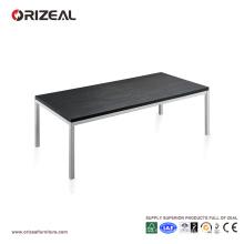 Mesa de centro larga de madera oscura Orizeal para sala de estar (OZ-OTB012)
