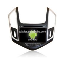 Четырехъядерный!автомобильный DVD с зеркальная связь/видеорегистратор/ТМЗ/obd2 для 8 дюймов сенсорный экран четырехъядерный процессор андроид 4.4 системы Шевроле Cruze 2013