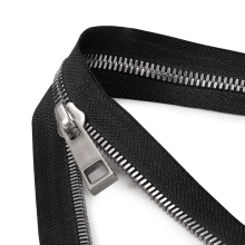 Original Color of Stainless Steel Non-lock No.5 Zipper