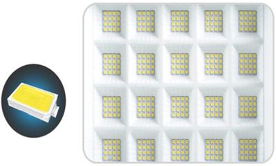 Waterproof outdoor solar flood light