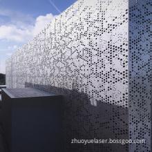Decorative Aluminum Expanded Metal Wall Cladding