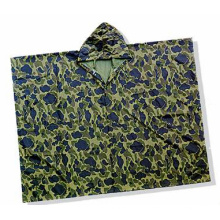 PVC Camouflage Poncho