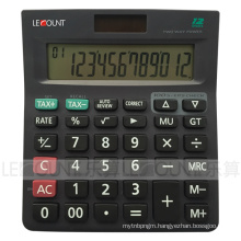 12 Digits Dual Power Tax Calculator with Optional Tax Function (CA1227)