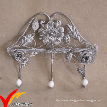 Decorative Vintage Metal Wall Mounted Coat Rack Hooks