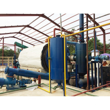 safe operation, small waste plastic pyrolysis equipment waste recycling to oil and carbon black