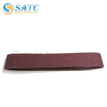 SATC seamless/jointless sanding belts /X-wt sanding belt for polishing