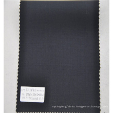 professional homespun style bird's eye wool suiting fabric