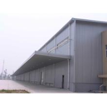 Prefab Espacio grande de acero Espacio Truss Factory Shed