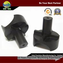 Piezas que trabajan a máquina de aluminio del CNC del conector con servicio de torneado del CNC