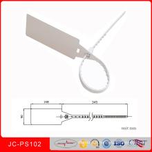 Joint coloré de sécurité de récipient en plastique imprimé par logo coloré fait sur commande de Jcps-102 Sinicline