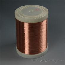 Diâmetro 0,12 mm-3,00 mm Fio esmaltado CCA de alumínio revestido de cobre para dispositivos móveis