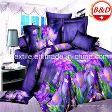 Preiswertes bedrucktes Polyester-Gewebe für Bettwäsche-Set