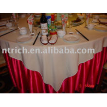 Satin Tischdecke, Tischdecke, Tischwäsche, Partei Tabellenabdeckung