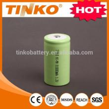OEM dado la bienvenida NI-MH recargable batería tamaño D 2500mah para 10000mah