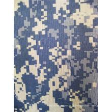 Fy-DC07 600d Oxford poliéster impressão digital camuflagem tecido