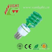 T3 Color lámpara Xt verde ahorro de energía lámpara (VLC-CLR-capítulo-serie-G)