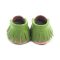 Genuine Leather Fancy Baby Shoes Pattern Moccasins