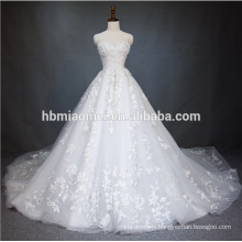 2018 China Guangzhou Wedding Dress Luxury Bridal Gown High Quality white color Puffy Princess Wedding Dress