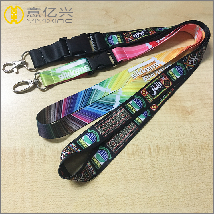cheap price printed lanyard