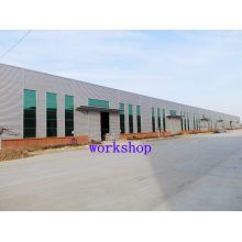 Prefabricated Workshop with Modern Design and Efficient Installation