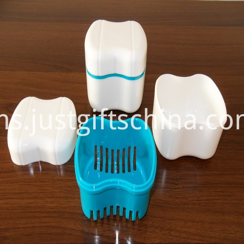 Promotional Tooth Shape Denture Box With Web _11