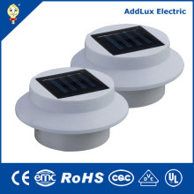 2xaaa 1.2V Ni-MH 2W Warm White LED Solar Panel Light