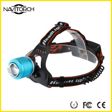 Navitorch zoomable recarregável Camping Riding LED farol (NK-606)