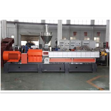 maquinaria de granulación de matriz plana de granulación de plástico
