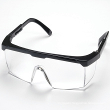 High Quality Adjustable Safety Glasses with Polycarbonate Lens, PC Lense Safety Goggles Supplier, Safety Spectacles