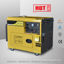 Портативный генератор 5кВт, 5kw немого дизель генератор, генератор с воздушным охлаждением 5kw