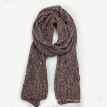 Mens Womens Unisex Multiple Cable Neck Warmer Thick Cashmere Feel Winter Knitted Scarf (SK804)