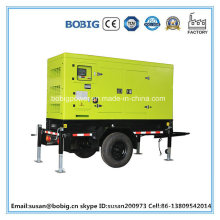 Silent Type Diesel Generator Set with Trolley (10KW/12.5kVA)