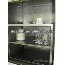 High safety dumbwaiter elevator with machine roomless